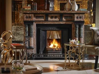 Hayfield Manor Fireplace