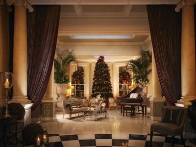 Grand Foyer at Christmas