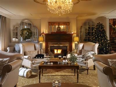 Lobby Lounge at Christmas