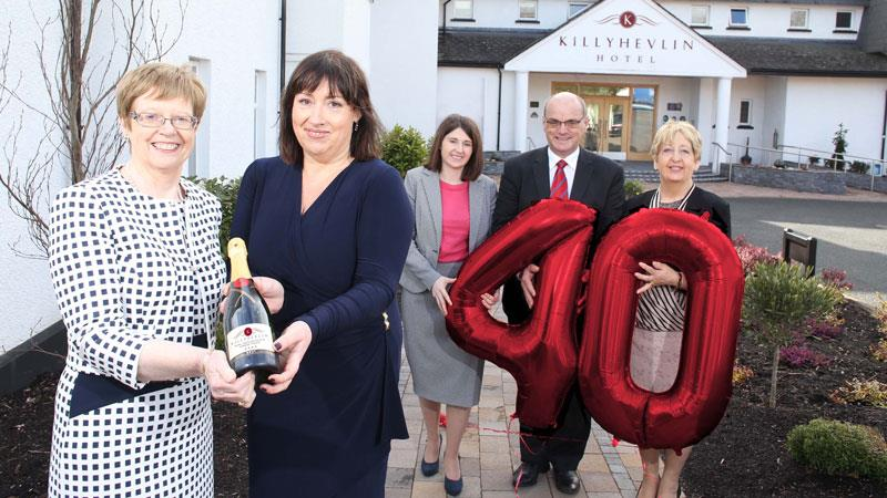 Killyhevlin Lakeside Hotel Celebrates Ruby Year