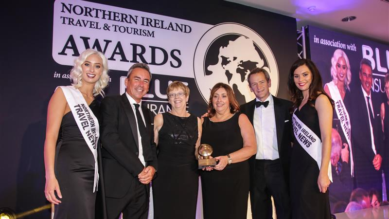 Outstanding Contribution to NI Tourism Award!