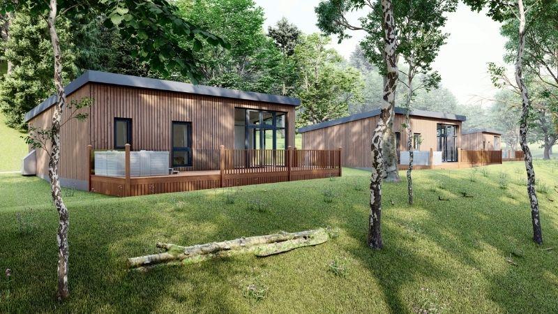 7  Night Woodland Lodge Staycation Arr. Sat