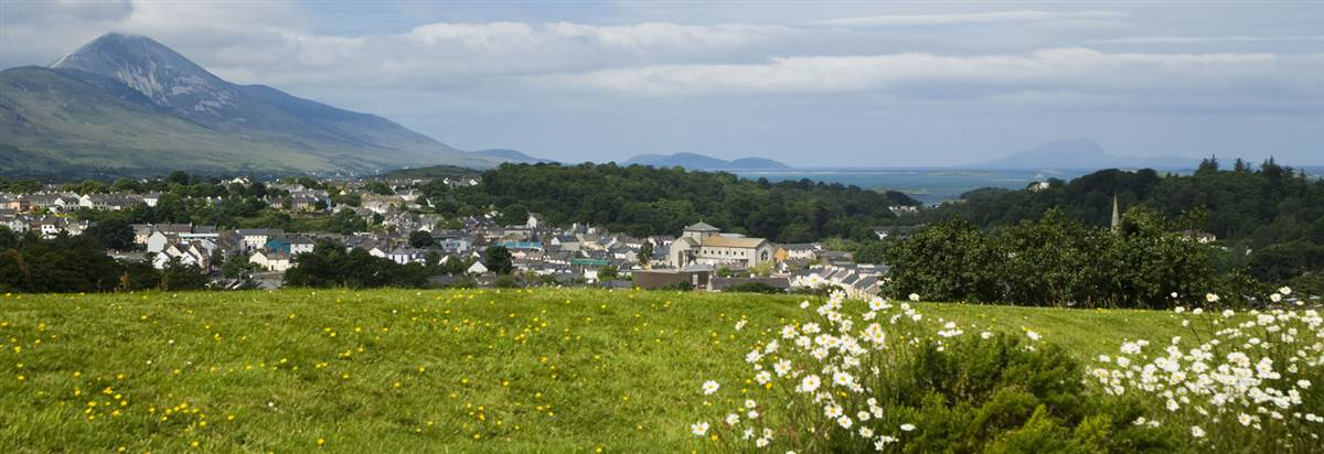 Overlooking Clew Bay