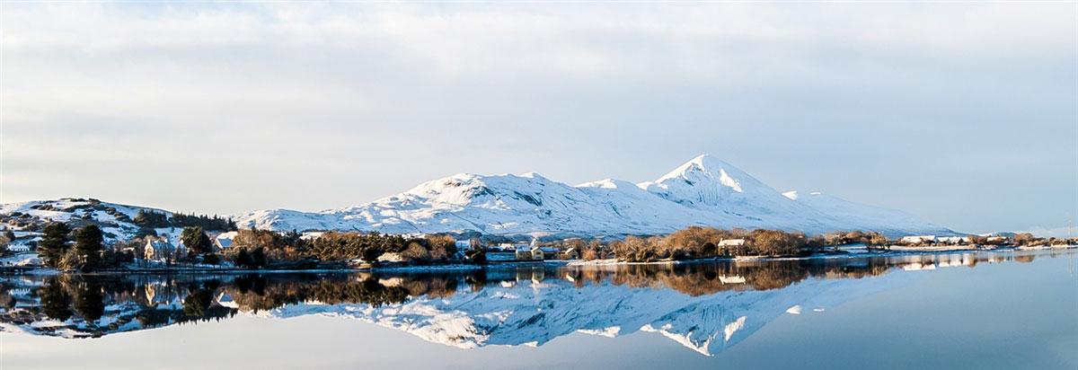 Snowy Croagh Patrick