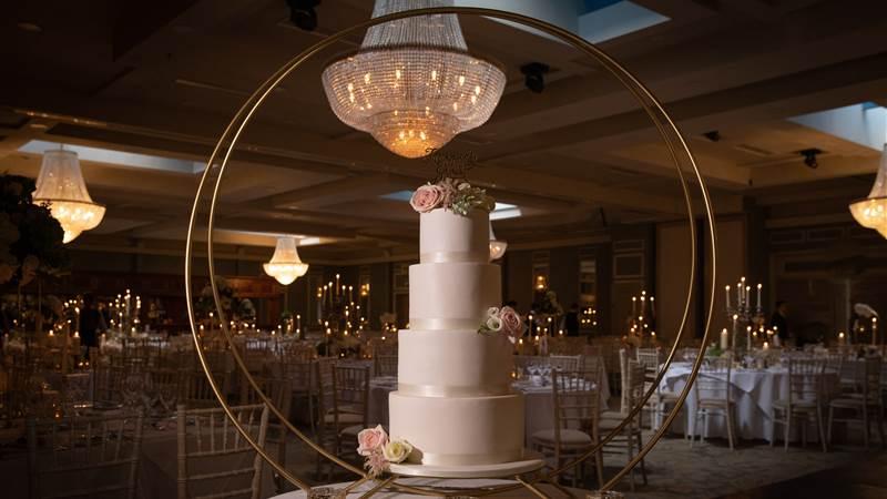 Wedding cake at Knockranny