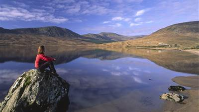 Taking time out in the Nephin Wilderness