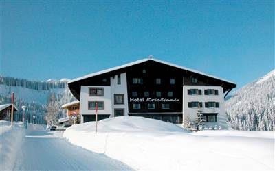 Hotel Kristiania Lech, best ski resort in Austria