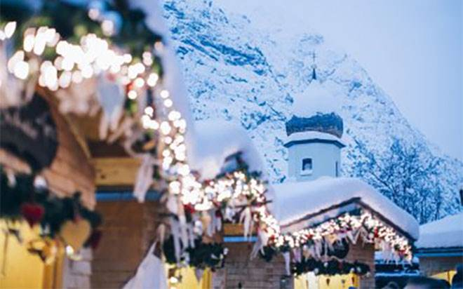 Christmas market in Zug