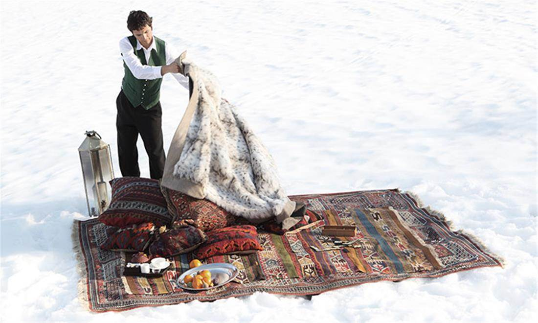 Making of Picnic in the Snow ...
