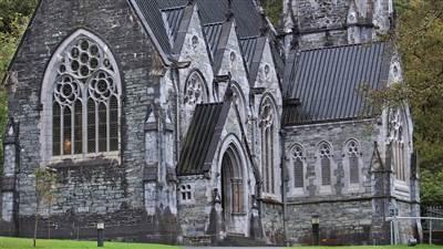 Kylemore Abbey Gothic Church4