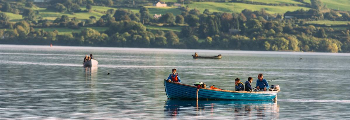 Lough Derg Blueway  Mountshannon  County