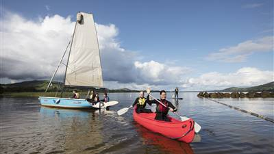 Ireland's Hidden Heartlands; Family Adventure Bootcamp