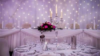 Table Setting Ballroom