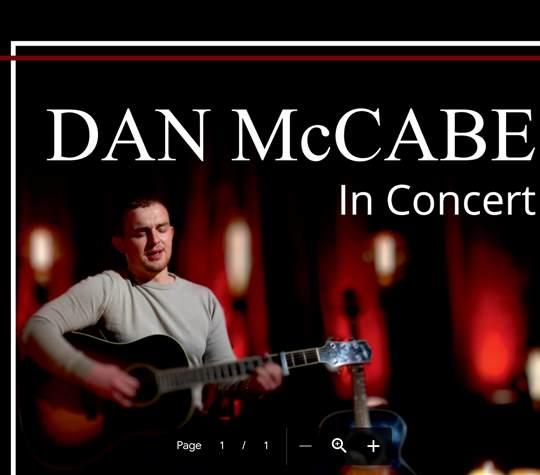 Dan McCabe image page EVENT