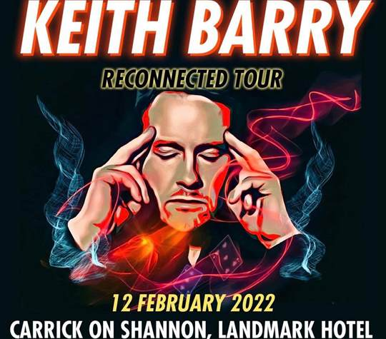 keith barry at the landmark