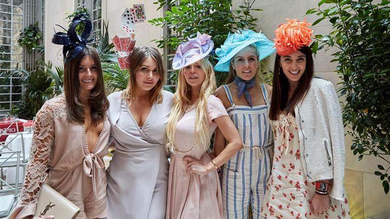 Kentucky Derby Ladies Garden