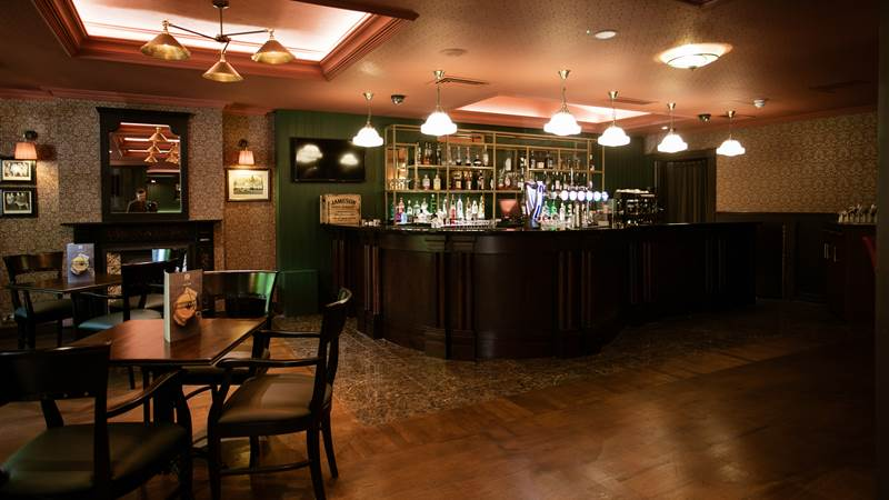 The Greyhound Bar
