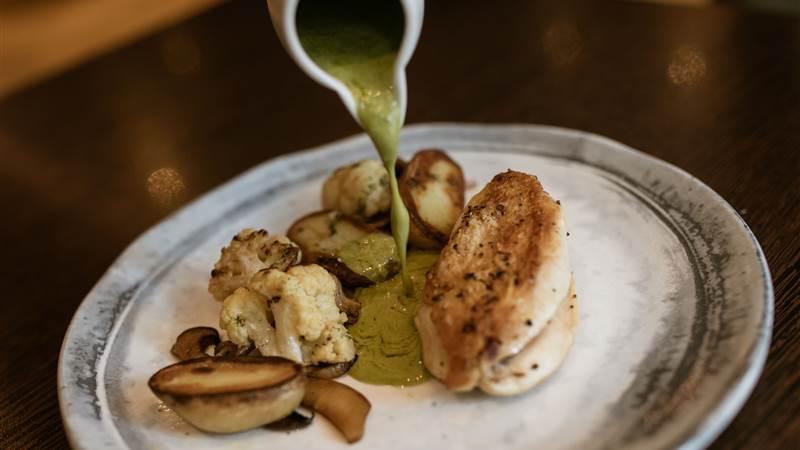 Chicken and Tarragon