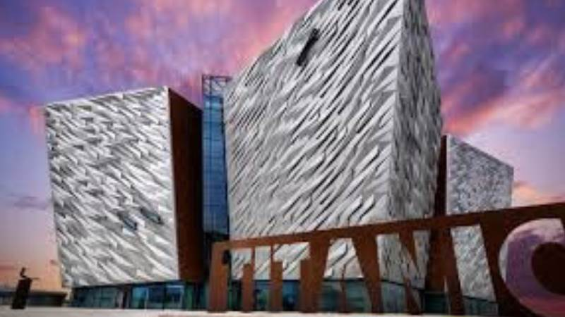 Titanic for attraction section of websit
