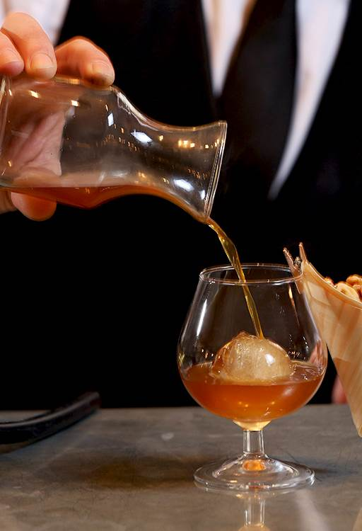The Pour