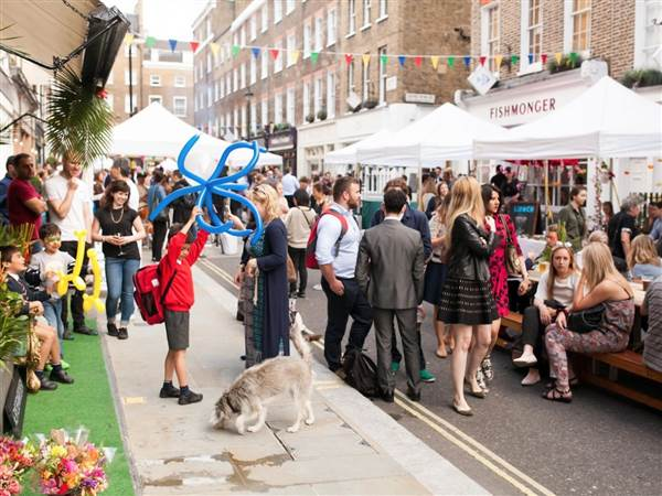 The Portman Marylebone Summer Street Par