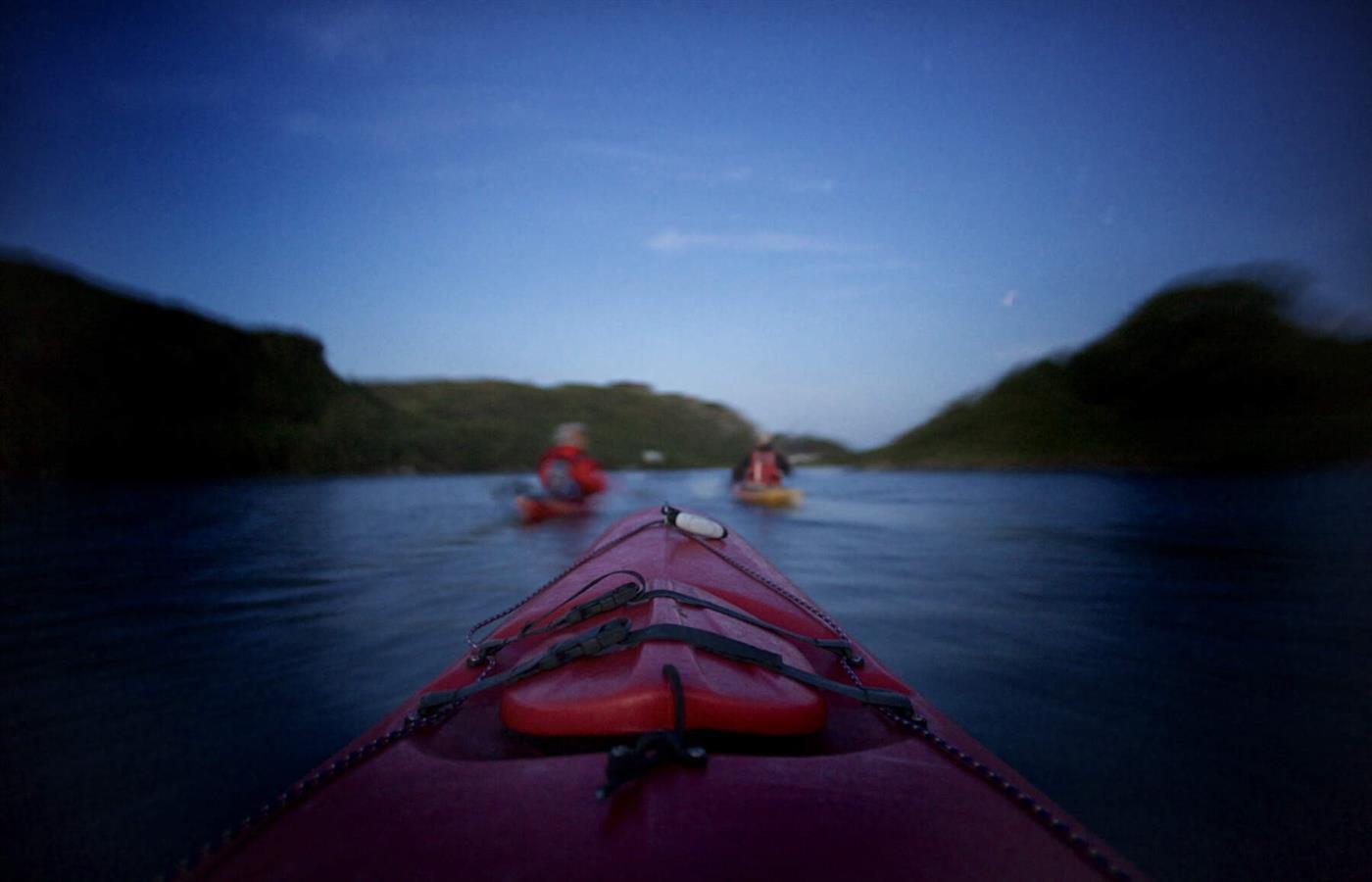 The Moonlight Starlight Kayaking Experie