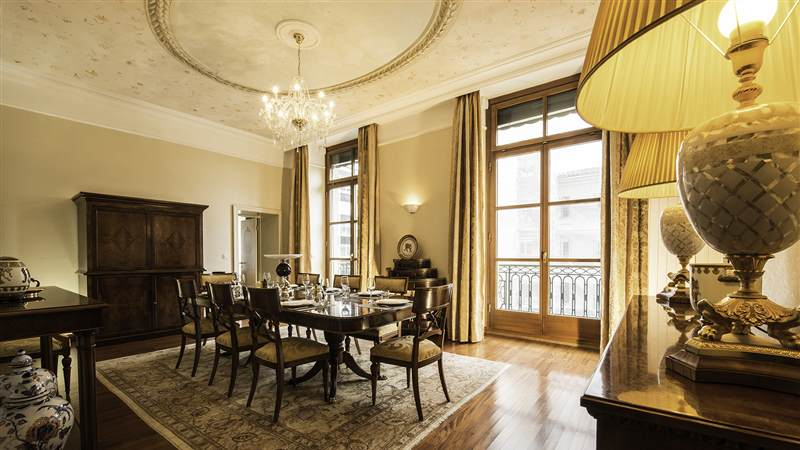 Presidential Suite Salle a manger