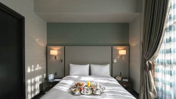 Stay at the Geneva classic hotel room