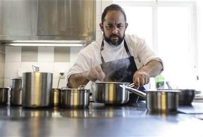 Chef Jerome Manifacier  cuisine
