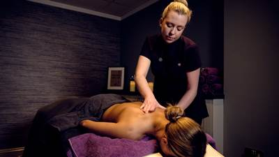 Elemis deep tissue massage