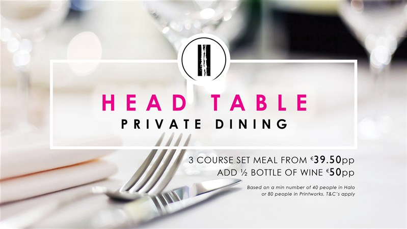 Morrison Head Table Corporate Dining 384