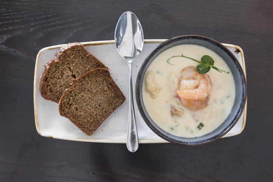 Hearty Seafood Chowder  5