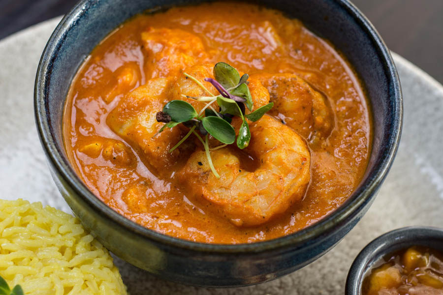 Malvani Monkfish Gambas Curry 7