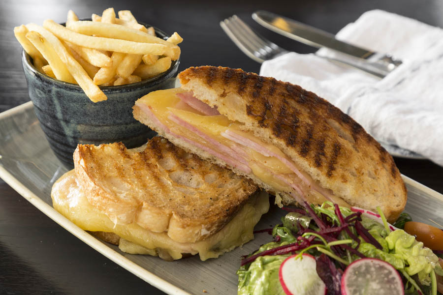 Rustic Ham Cheese Toasted Sandwich  5