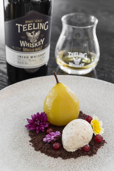 Teeling Whiskey Poached Pear  11