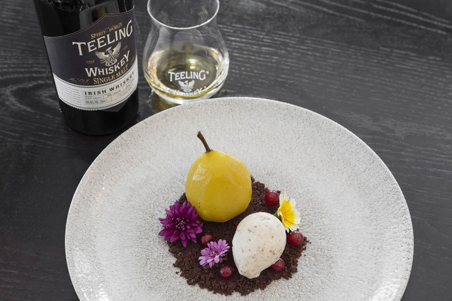 Teeling Whiskey Poached Pear  6