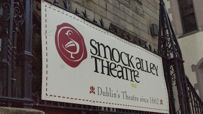 Smock Alley Theatre Dublin sign min
