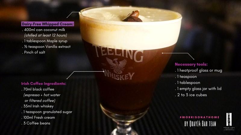 Recipe Irish coffee