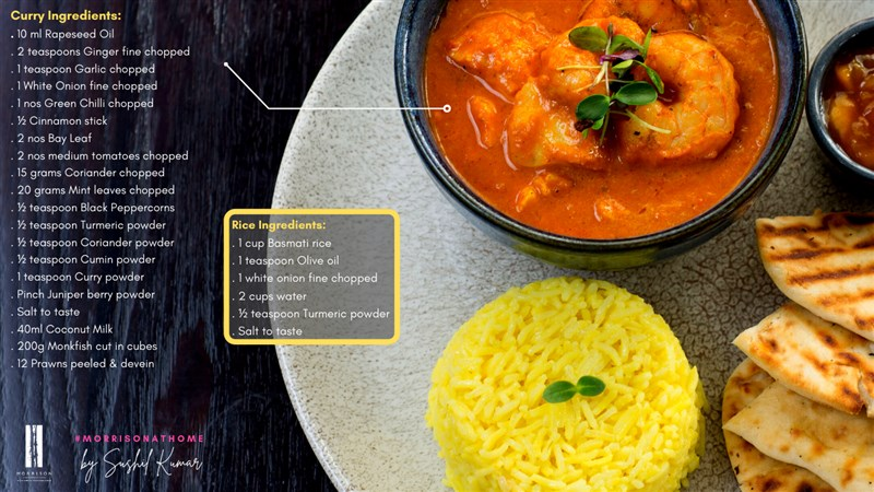 Recipe curry