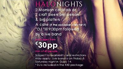 Halo Party Night Package
