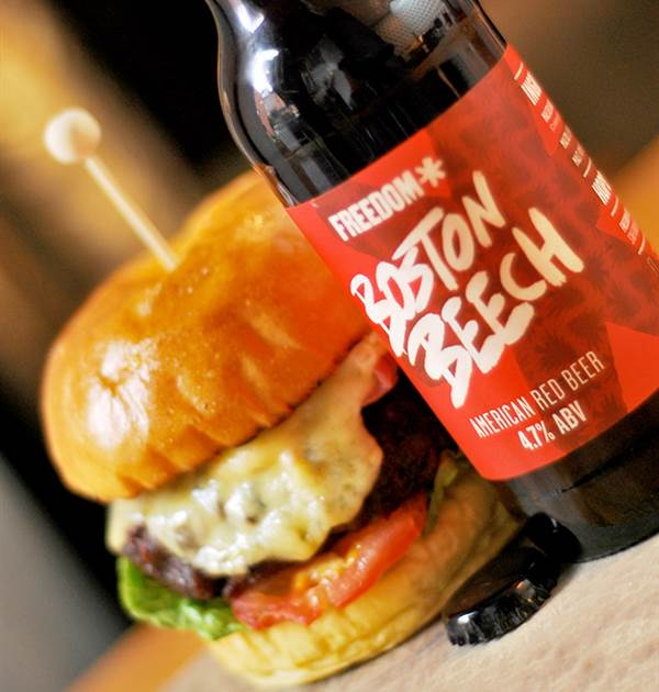 Beer and Burger Web