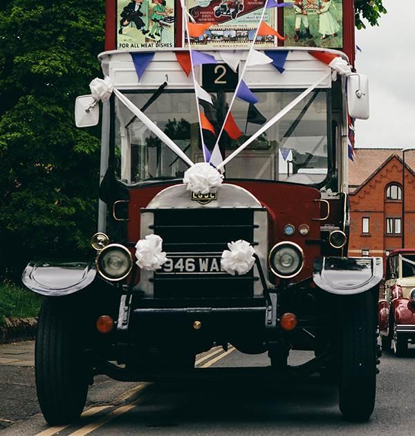 Heritage Bus Wedding