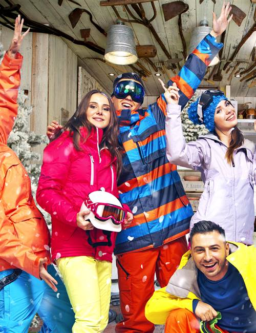 Ski Home pannel
