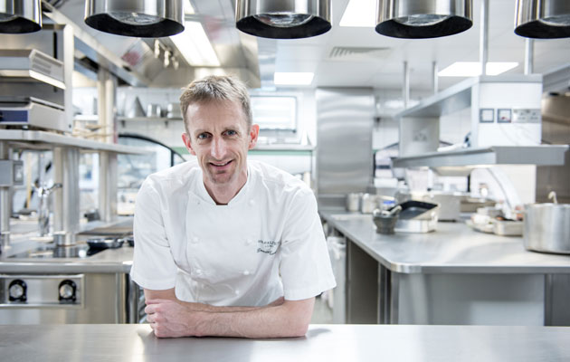 Chef Dominic Fine Dining London One Aldwych