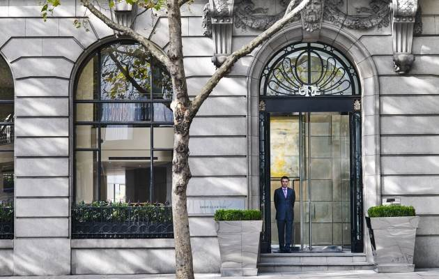 Exterior  Day  Doorman One Aldwych