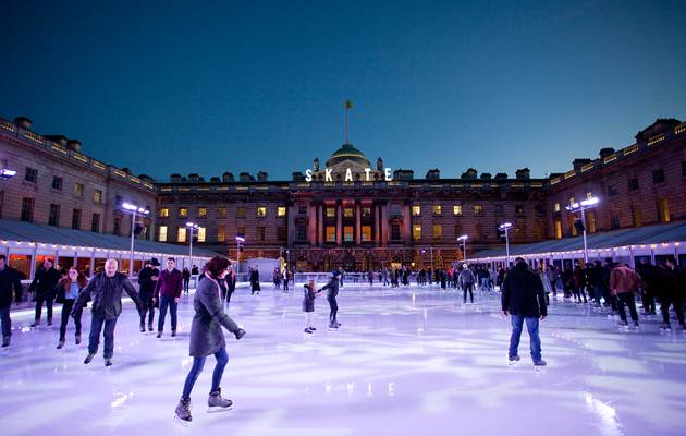 Skate & Stay at One Aldwych with Skate at Somerset House