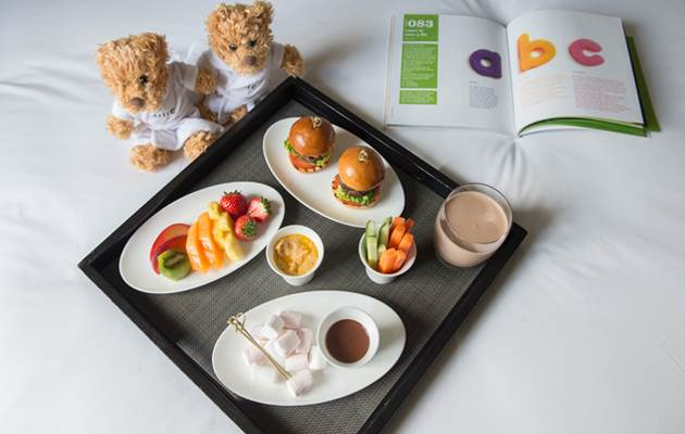 Fast Food Reimagined: Tray of Treats Room Service Meals