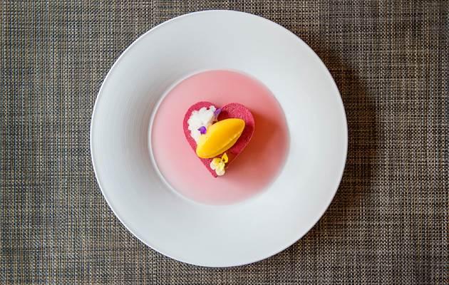 valentines dessert short panel
