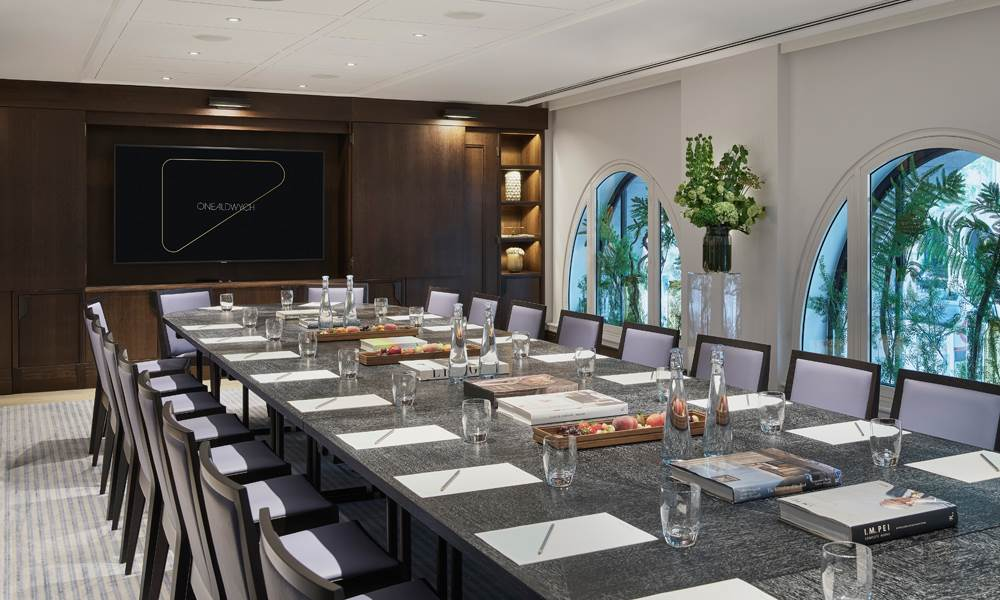 Meet with the best at One Aldwych