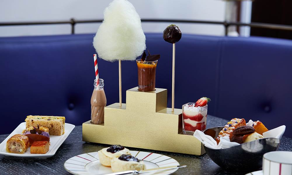 Our indulgent Charlie and the Chocolate Factory inspired afternoon tea